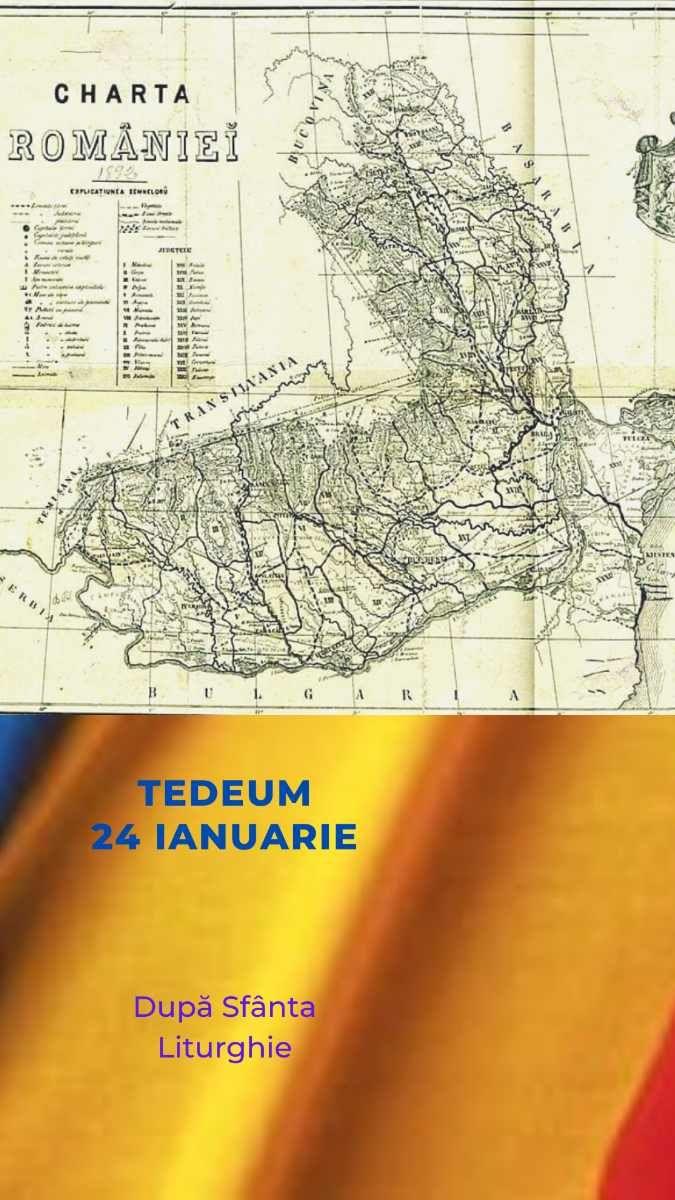 Tedeum pentru Unirea din 1859