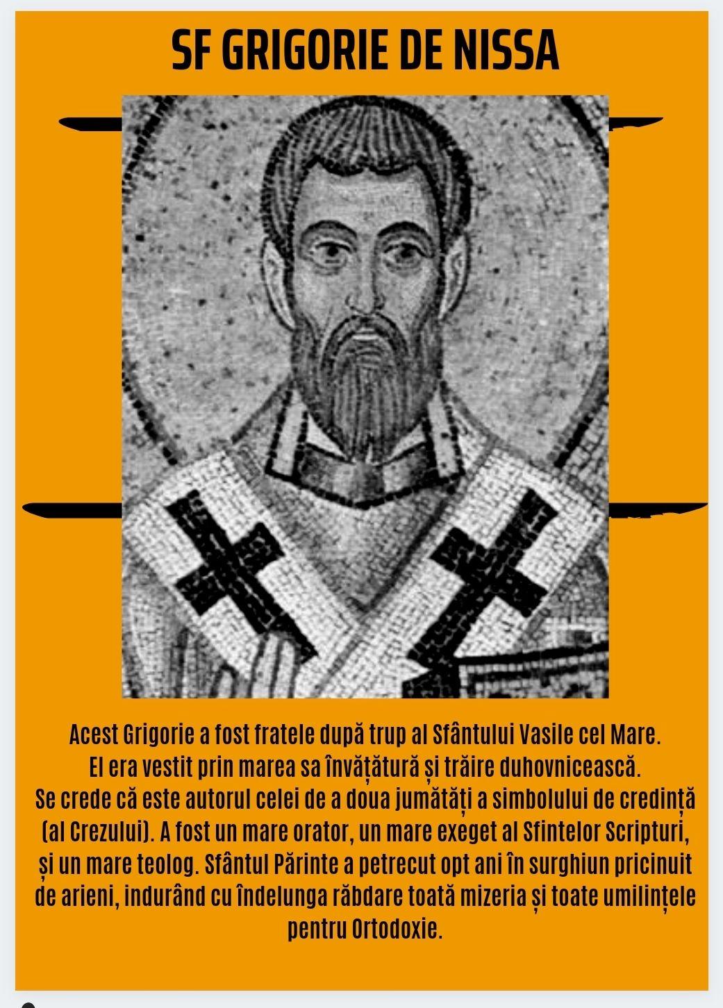 Virtuțile fratelui Marelui Vasile